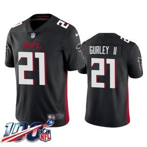 Falcons Todd Gurley II Black Jersey